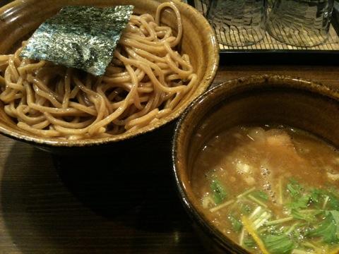 えん寺吉祥寺店2010年11月のベジポタつけ麺大盛