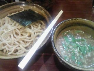 えん寺2009年9月のつけ麺大盛