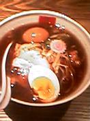 西麻布五行2004年7月の焦がし醬油+味玉