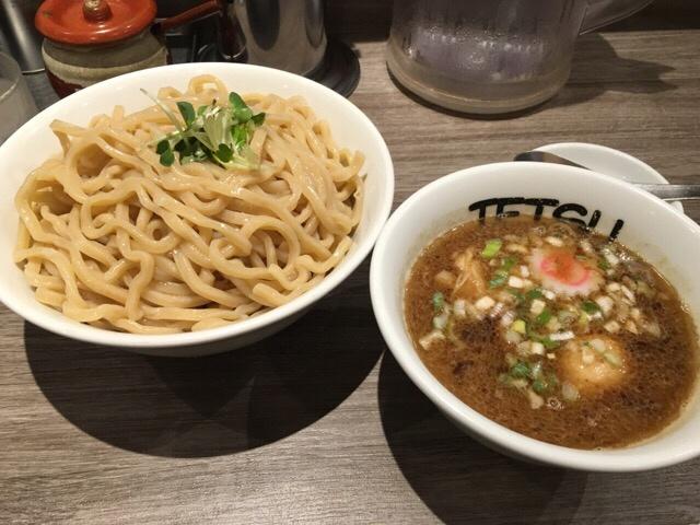 TETSU町田店2016年9月のつけめん特盛+味玉